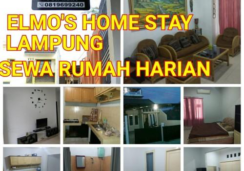 Elmos Home Sewa Rumah Harian, Lampung
